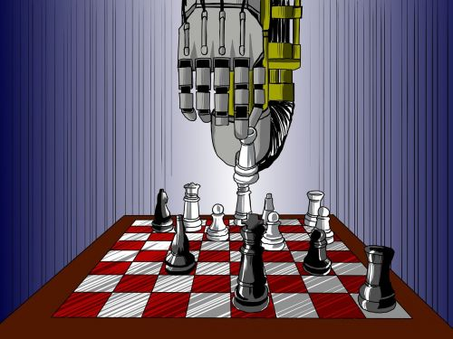 artificial intelligence chess the robot arm