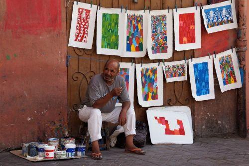 artist morocco paintings