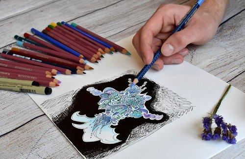 artist  illustrator  drawing