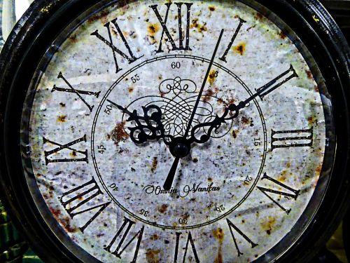 Artistic Clock Face