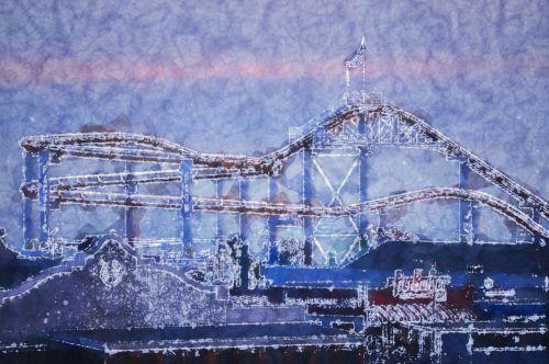 Artistic Roller Coaster