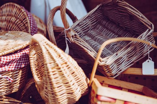 arts and crafts baskets craftsmanship