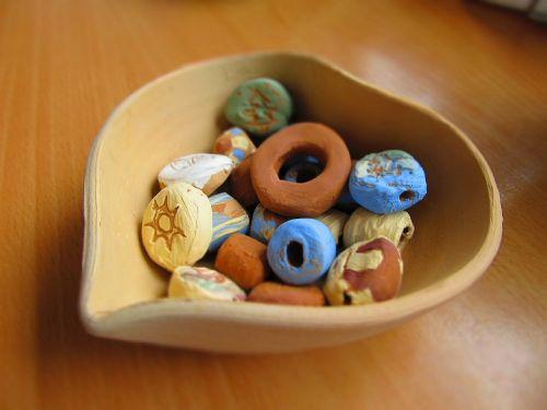 arts and crafts ceramic pearl