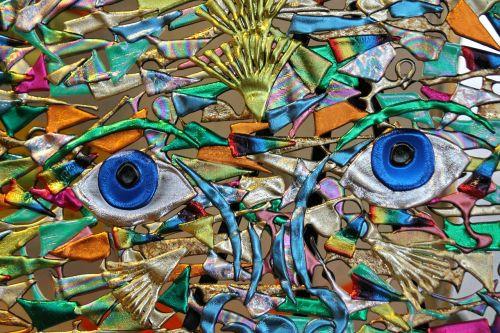artwork clay face