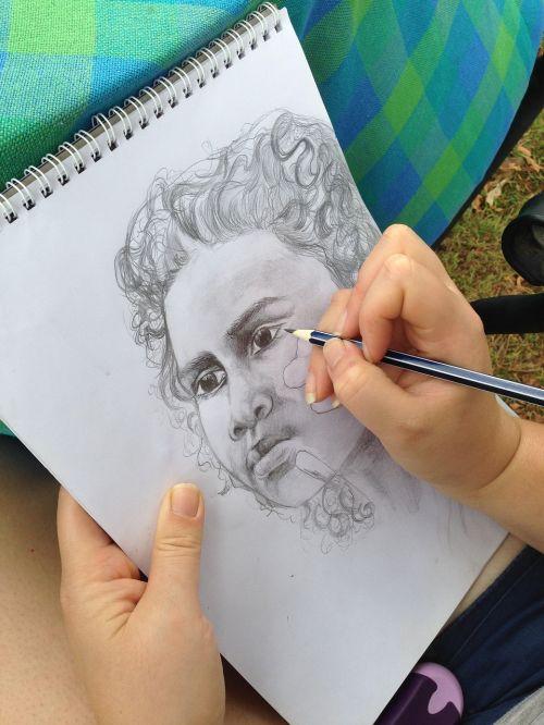 artwork drawing aboriginal