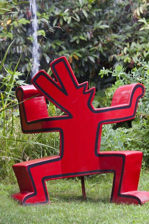 artwork sculpture keith haring