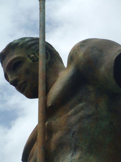 artwork statue male