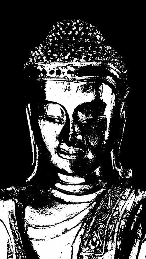 Artwork Buddha Statuette Figurine