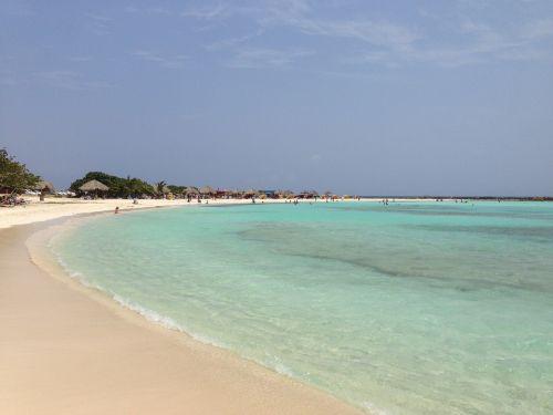 aruba baby beach bay