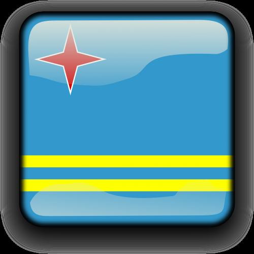 aruba flag country