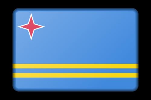 aruba banner decoration
