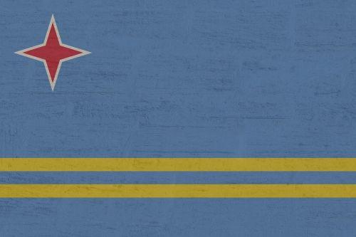 aruba flag blue