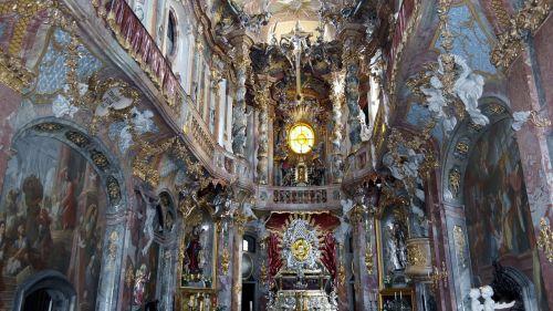 asamkirche church altar