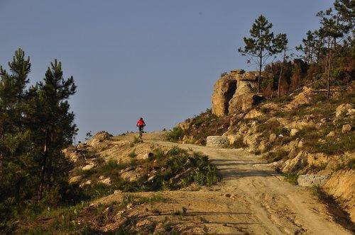ascent  sunset  biking