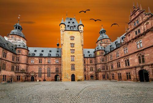 aschaffenburg castle lower franconia