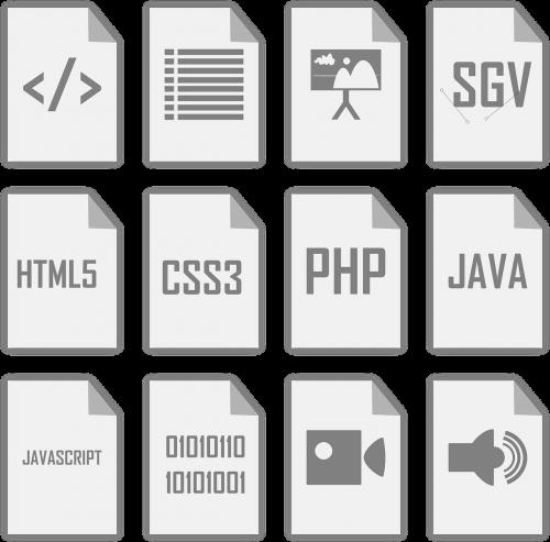 ash icons vectors html5 java
