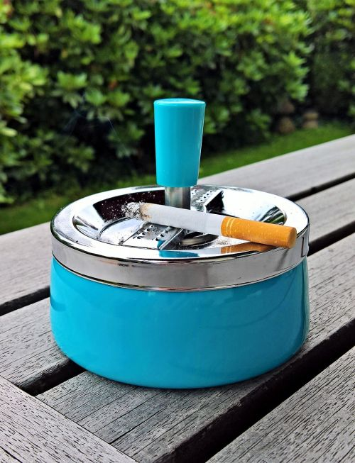 ashtray smoking rotary ashtray