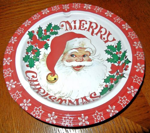 ashtray christmas santa