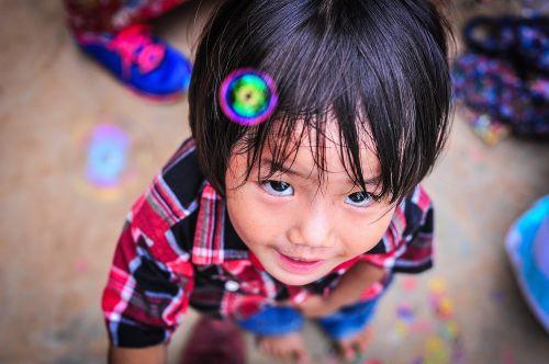 asia bubble child
