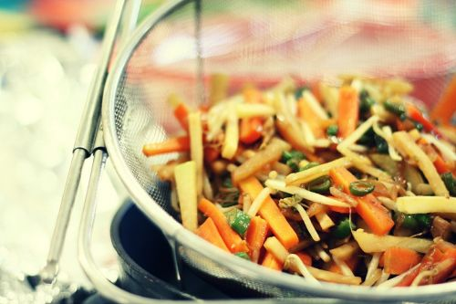 asia cook prepare