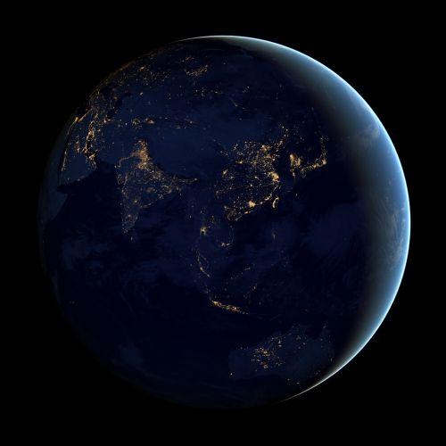 asia globe cities