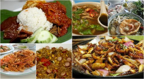 asia food food collage photo collage