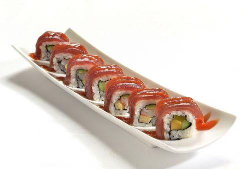 asian food sushi oriental
