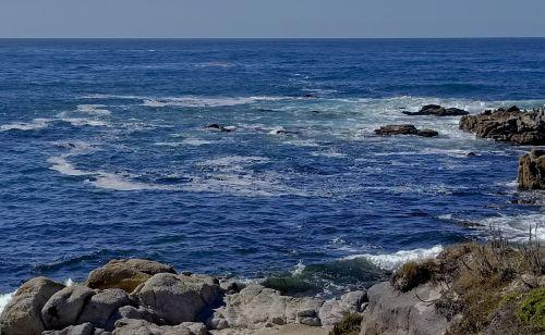 Asilomar, vandenynas, spalvos, mėlynas & nbsp, okeanas, mėlyna-žalia ocean, trys & nbsp, spalvos & nbsp, mėlynos spalvos, asilomarų vandenyno spalvos