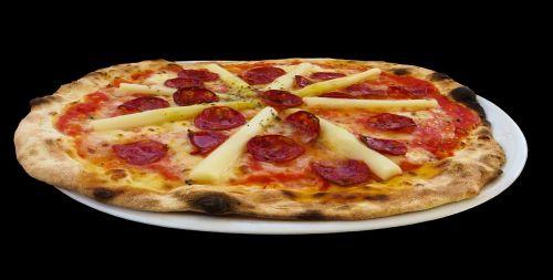 asparagus pizza eat