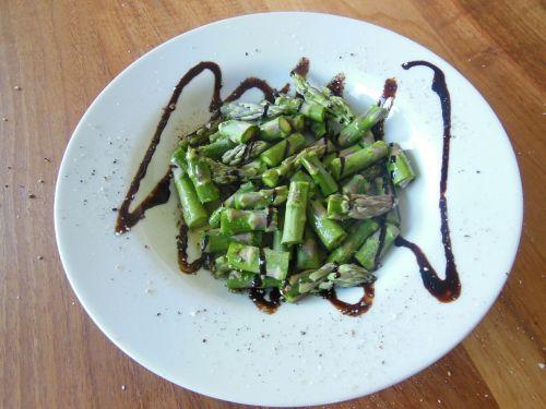 asparagus salad vinegar