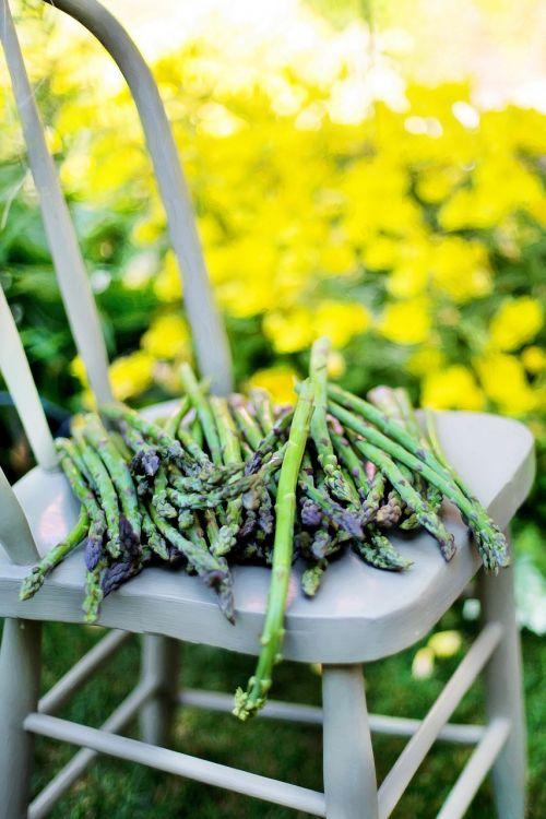 asparagus summer veggies