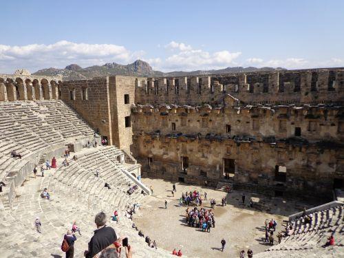 aspendos amphitheater turkey