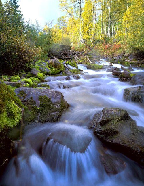 aspens water stream
