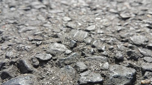 asphalt road tar