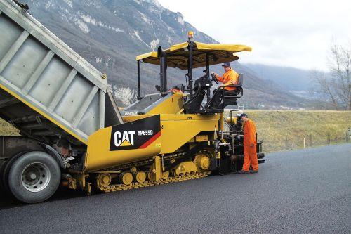 asphalt pavers cat