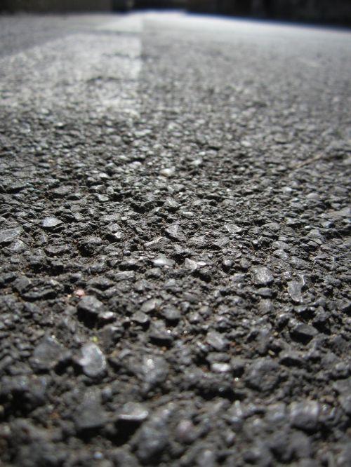 asphalt road nero