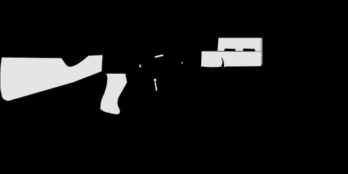 assault rifle automatic weapon gun