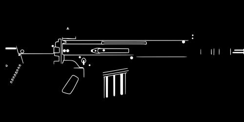 assault rifle rifle scar