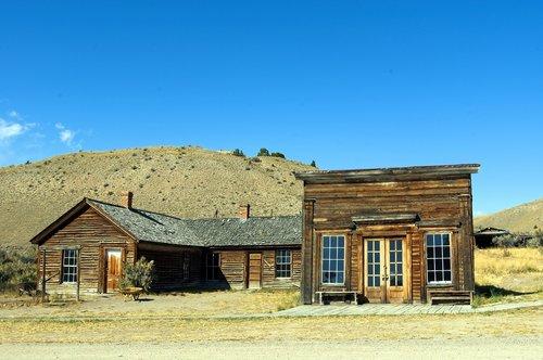 assay office in bannack  montana  bannack