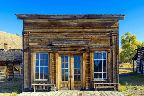 assay office in bannack montana  montana  bannack