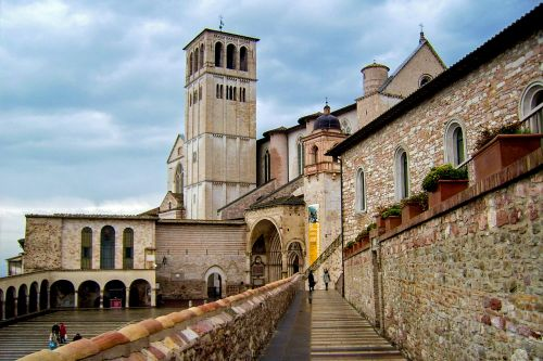 assisi st francis basilica of st francis