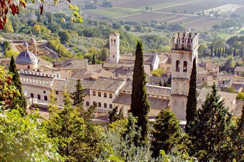 Assisi,žmonių bokštas,Viduramžiai,perugia,umbria,italy,rožinis akmuo,franciscans,italų gotikinė,romaneškos architektūros,viduramžių,paminklas,viduramžių bokštas,turizmas,architektūra,viduramžių kaimas