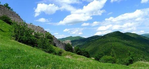 assisi rocca landscape