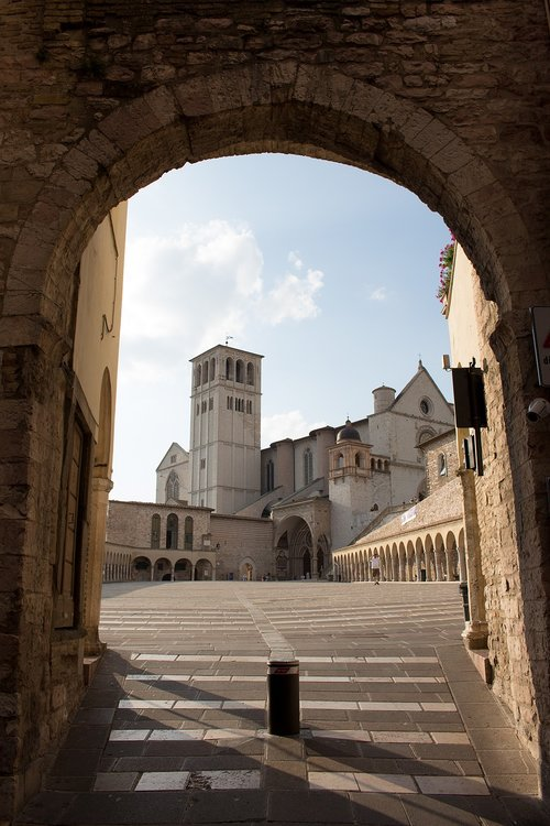 assisi  city  italy