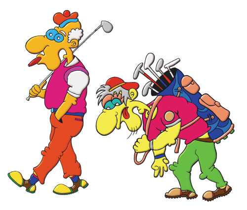 assistant golf player golfers golf