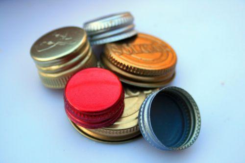 Assorted Metal Caps