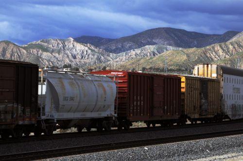 Assorted Railroad Train Cars