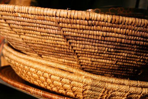 Assortment Of Woven Baskets