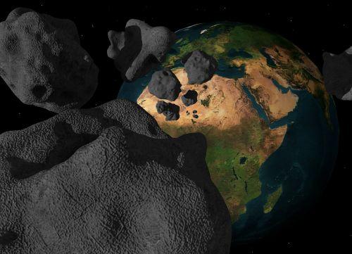 asteroid meteorite impact