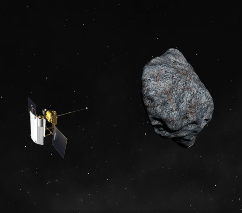 asteroid  probe  cosmos